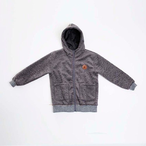 Alpace Hoody zip up-Grey :50%